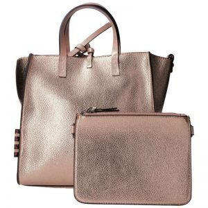 Felicia Small pink metal