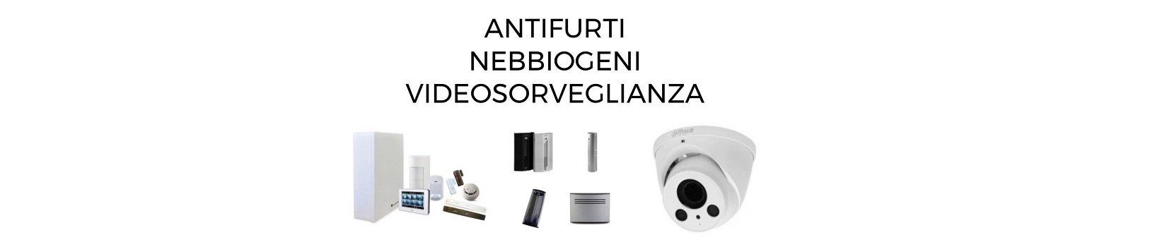 Jorio Antifurti-Nebbiogeni-Videosorveglianza