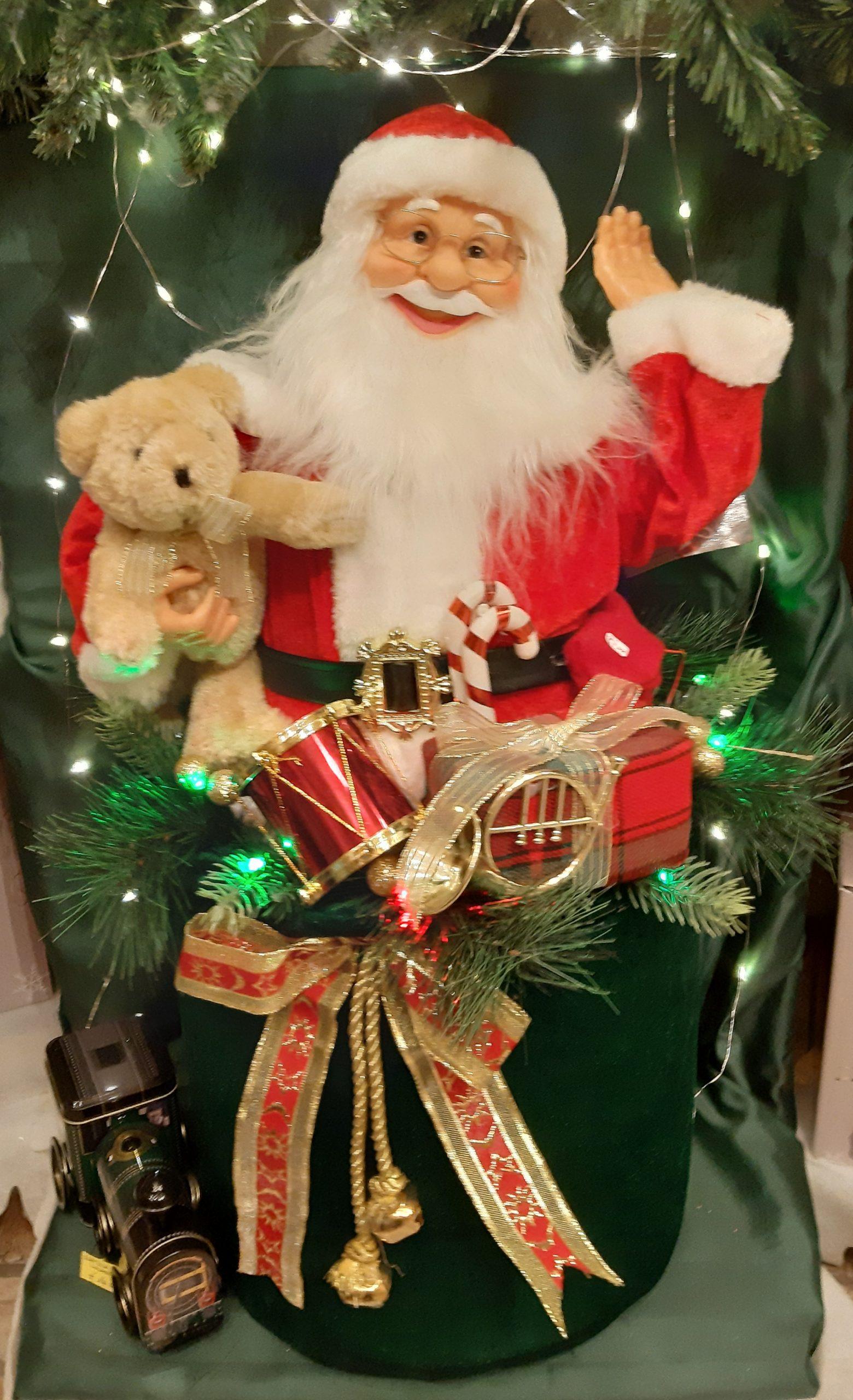 Babbo Natale Musicale.Babbo Natale Musicale Negozi Genovesi
