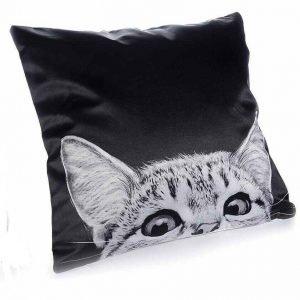cuscino gatto nero