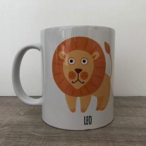 tazza segno zodiacale leone