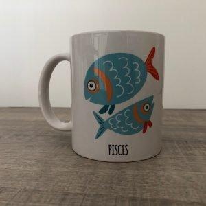 tazza segno zodiacale pesci
